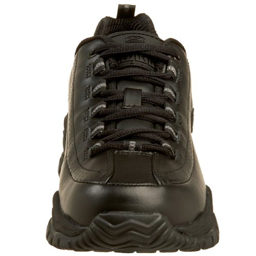 Skechers for Work Women's Soft Stride-Softie Lace-Up,Black,10 W US