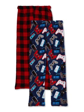 Beverly Hills Polo Club Boys Pajama Pants, 2-Pack, Sizes 4-18