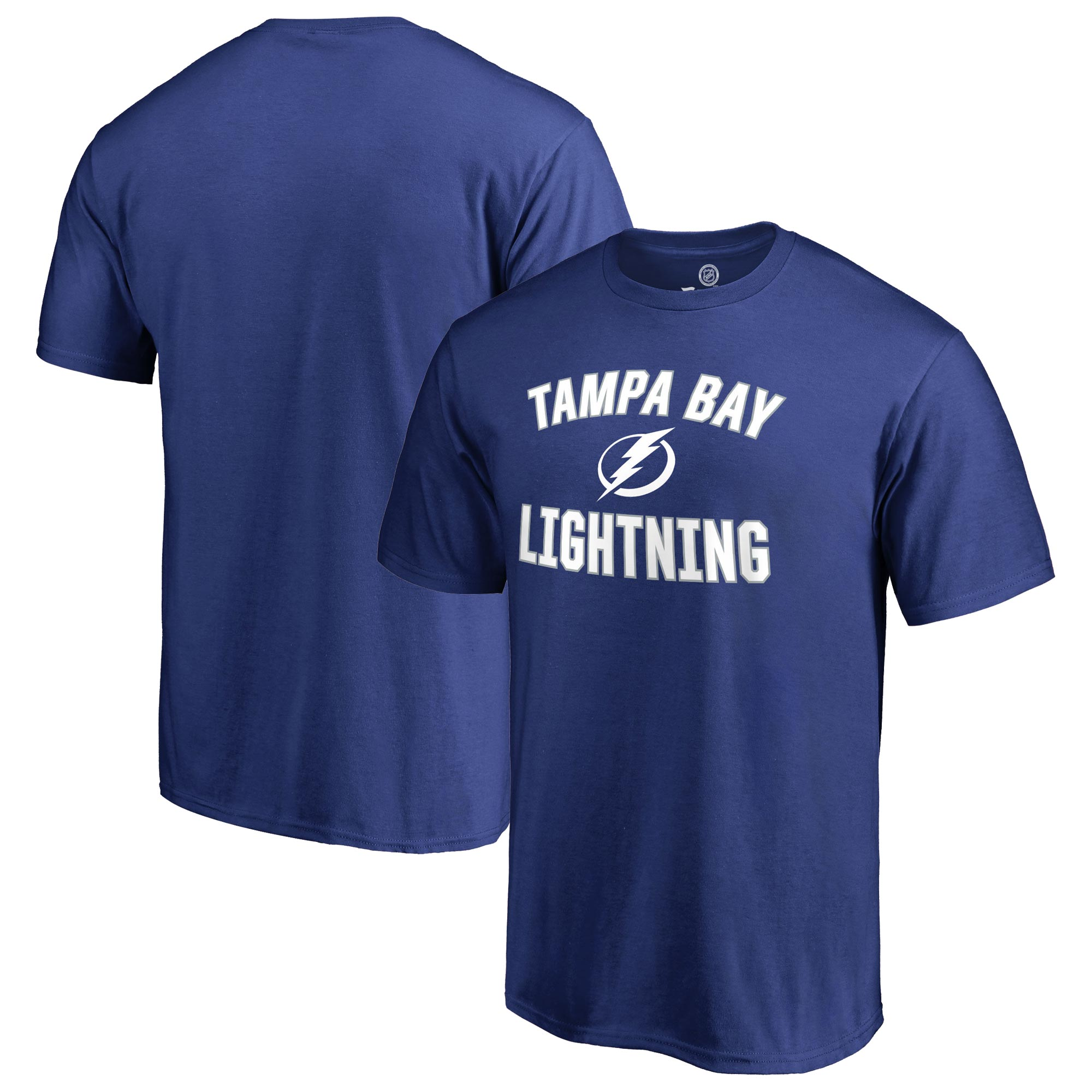 Tampa Bay Lightning Victory Arch T-Shirt - Blue