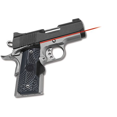 Crimson Trace Master Series Lasergrips For Compact 1911 G 10 Black Gray  Lg 905