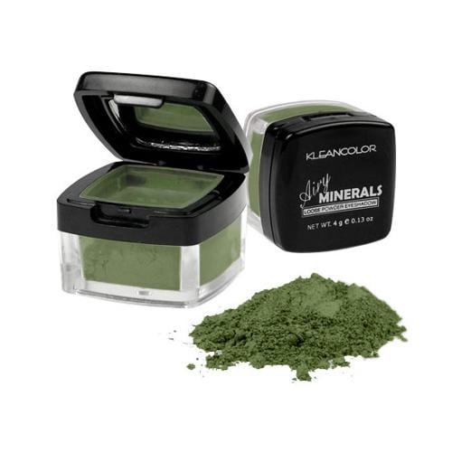 KleanColor 0.13oz Loose Powder Eyeshadow Eye Makeup  Green, CHANCE, 119
