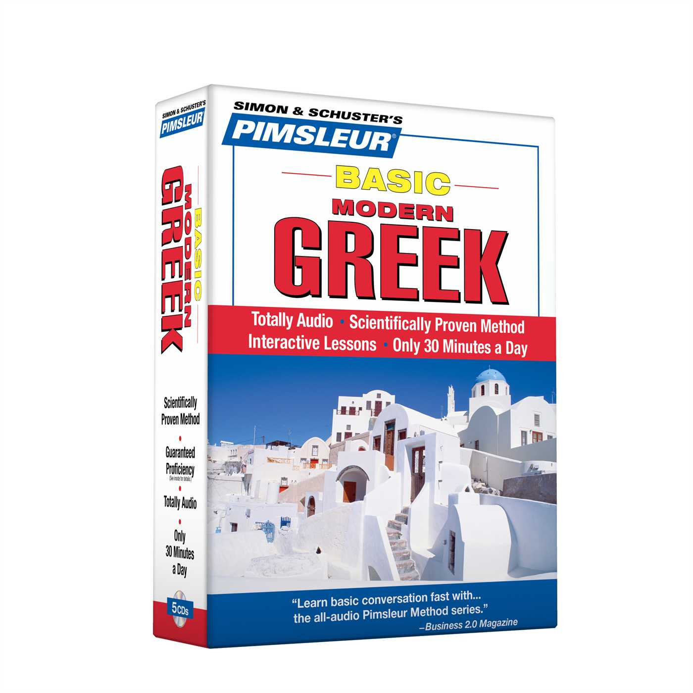 Pimsleur Greek (Modern) Basic Course - Level 1 Lessons 1-10 CD : Learn to Speak and Understand Modern Greek with Pimsleur Language Programs