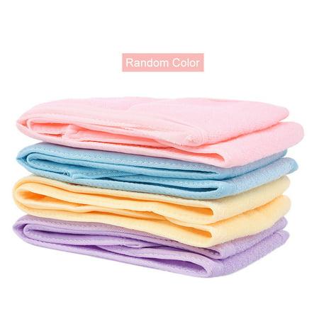 Fabric Turban - 1 Pc Soft Headband for Girls Makeup Face Washing Shower Turban Head Wrap Headwear Towel Fabric for Salon Home Use Random color