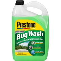 Prestone AS657 Bug Wash Windshield Washer Fluid, 1 Gallon