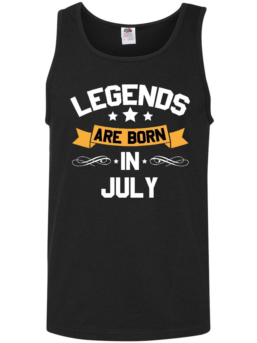 legends are born in july Men's Tank Top