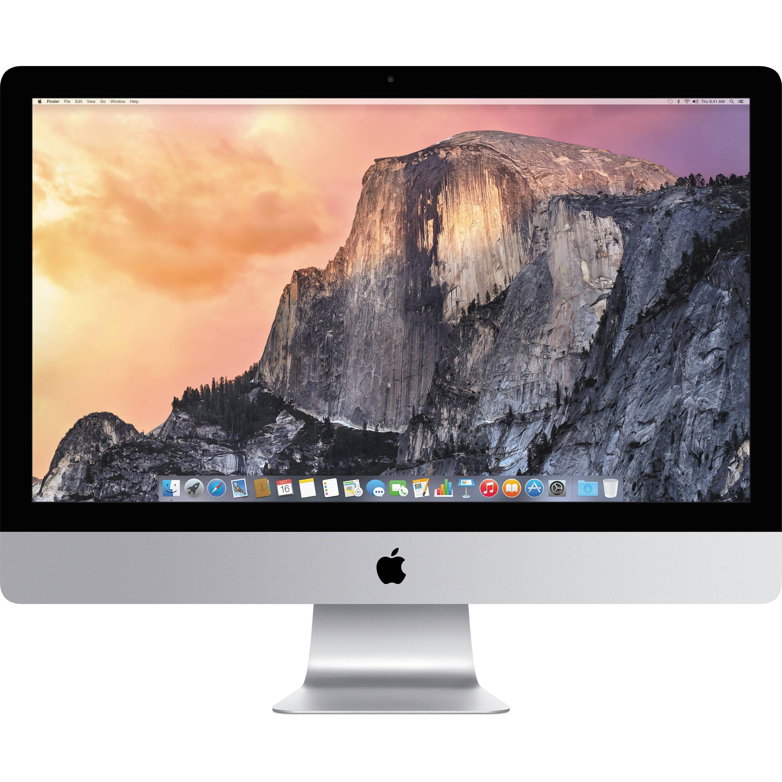 "Apple iMac MF885LL/A 27"" Intel Core i5-4590 X4 3.3GHz 8GB 1TB, Silver (Scratch And Dent Refurbished)"
