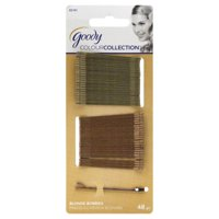 (2 Pack) Goody Bobby Pins Blonde- 48 CT