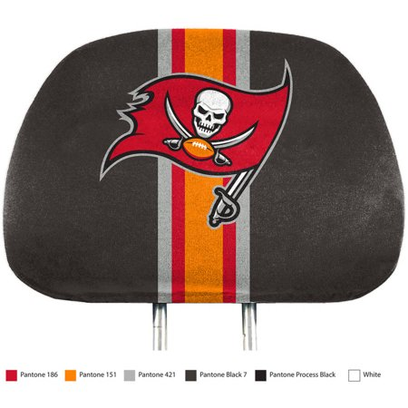 NFL Tampa Bay Bucs Printed Headrest Covers