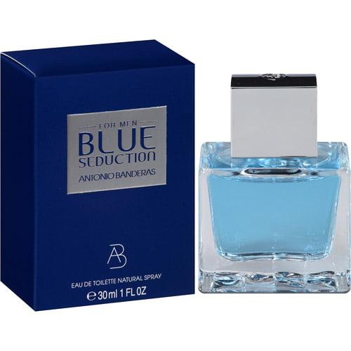 Antonio Banderas Blue Seduction for Men Eau de Toilette Spray, 1 fl oz