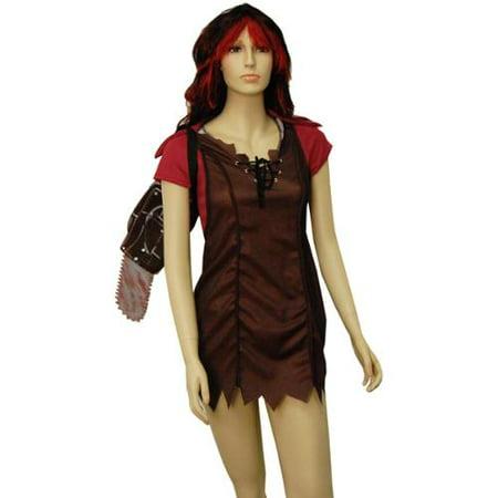 Texas Chainsaw Massacre Sexy Leatherface Women's Costume Adult X-Small 0-2](Chainsaw Massacre Costumes)
