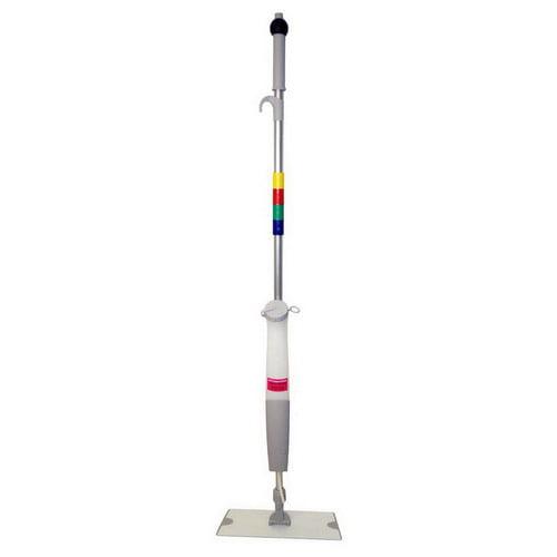 O'Dell Mop & Broom Advantage Plus Bucketless Wet Mop System, 32 oz., Metallic Handle   1 Each by O'Dell Mop & Broom Company