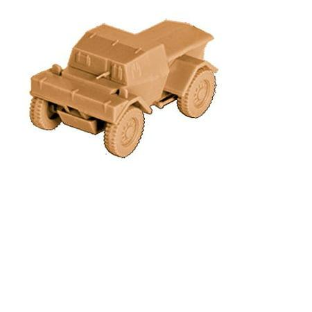 Zvezda Models British Armored Scout CarDingo Mk.I Model Kit (1/100 Scale)