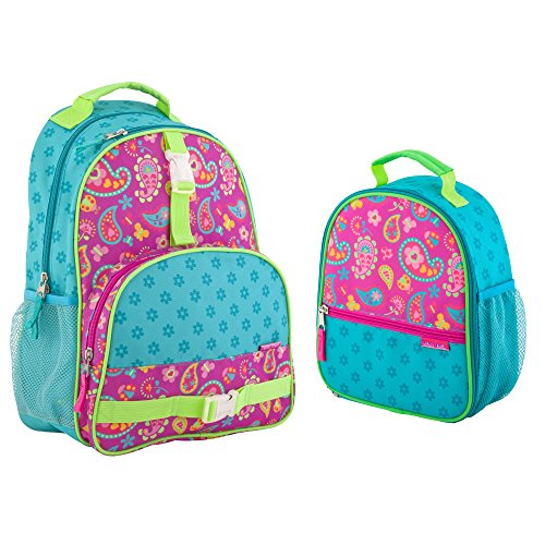 Stephen Joseph Girls Paisley Backpack and