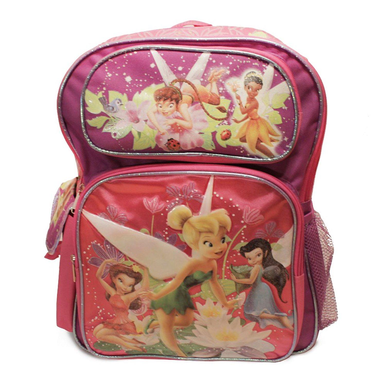 Disney Fairies Large Two Tone Backpack, Disney Fairies la...