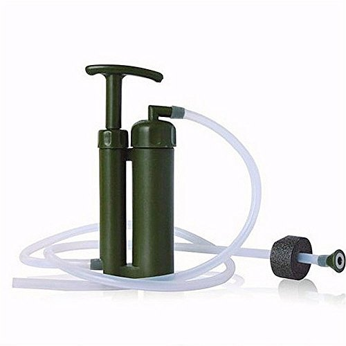 Water Filter, NOVPEAK [U.S.warranty]Portable Soldier Camping Emergency Water Filter Purifier for Outdoor Survival Hiking... by