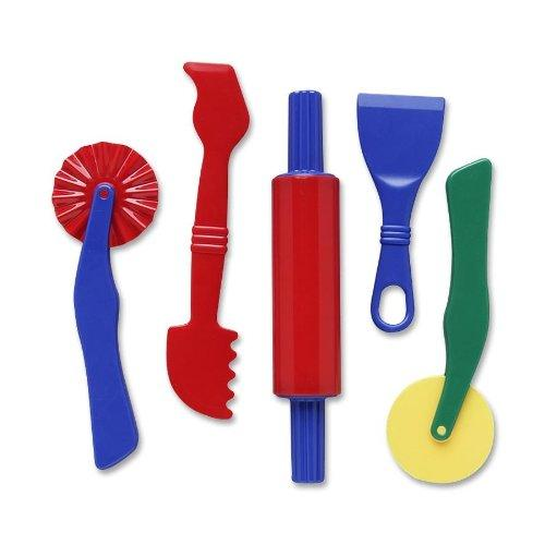 Chenillekraft Clay Dough Tool Set - 5 Piece[s] - Assorted (CKC9762)