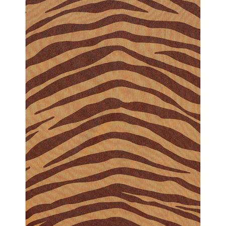 Zebra Print Curtain Panel, 54