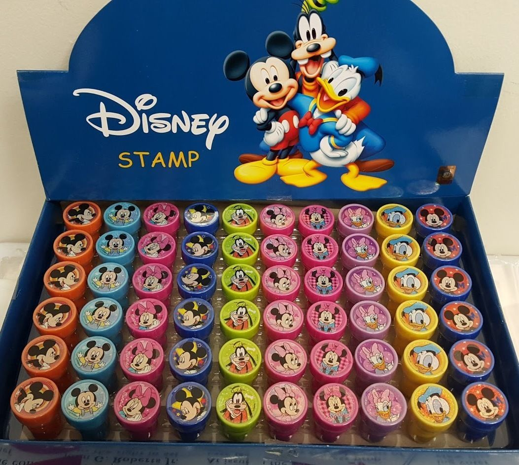 2 DZ 24 Pcs Disney Mickey Mouse Wood Pencils Birthday Party Favors Bag Fillers