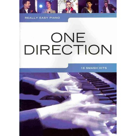 Really Easy Piano: One Direction (Paperback) (One Direction On The Road Again Tickets)