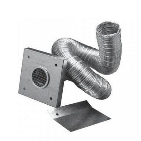 "PelletVent Pro 3"" Pellet Chimney Pipe Aluminum Fresh Air Intake Kit"
