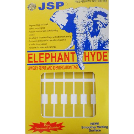 Jsp  Elephant Hyde Price Tags Square 1000 Gold Ta81