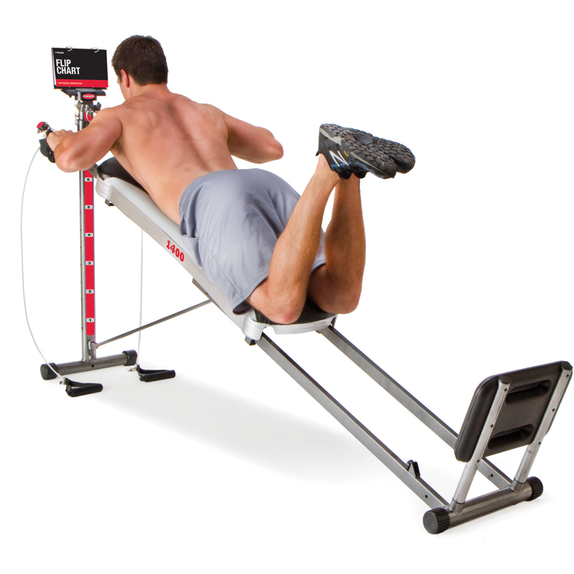 Total Gym 1400 Home With Workout Dvd