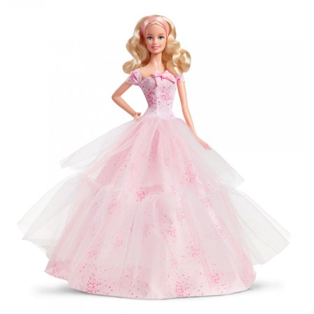 Barbie Birthday Wishes Doll  Caucasian With Blonde Hair