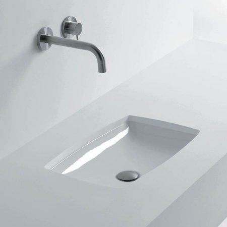 Ws Bath Collections H10 60u Rectangular Undermount Bathroom Sink