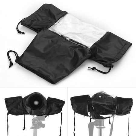Standard Camera Waterproof Rain Cover Sleeve Protector Raincoat for Canon Nikon Sony DSLR Cameras (Best Low Cost Dslr Cameras In India)