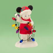 Dept 56 Snowbabies 4031851 Disney Lighting Up Christmas Mickey