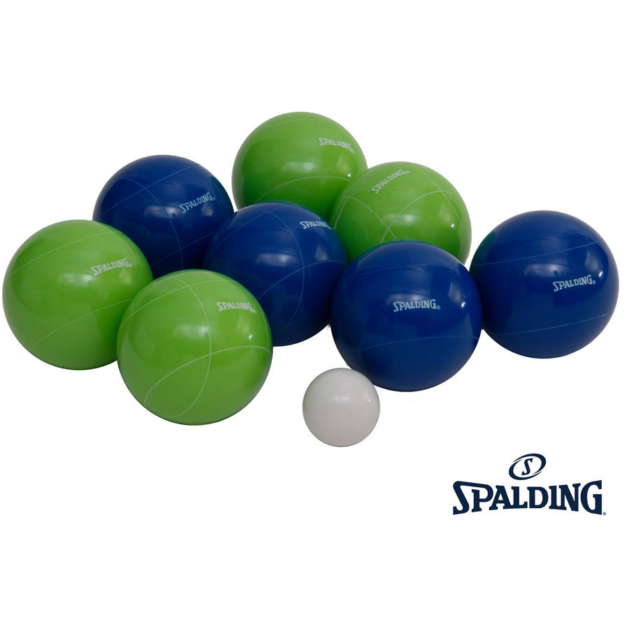 Spalding Premium Bocce Set, 100mm by Triumph Sports USA