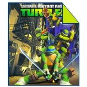"Nickelodeon TNNT Teenage Mutant Ninja Turtles Twin/Full 72""X86"" Comforter"