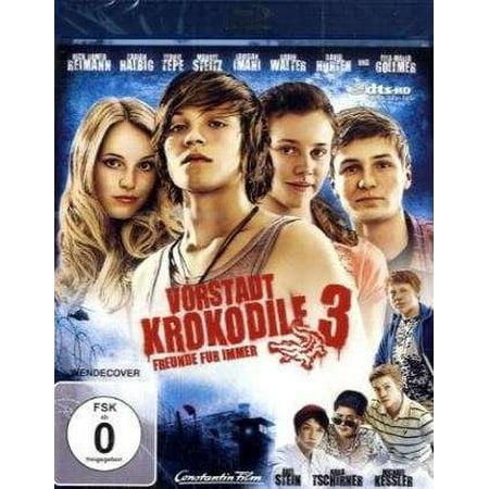 Suburban Crocodiles 3 (2011) ( Vorstadtkrokodile 3 ) ( The Crocodiles Strike Back (Sub urban Crocodiles Three) ) [ Blu-Ray, Reg.A/B/C Import - Germany ] - German Sub Type