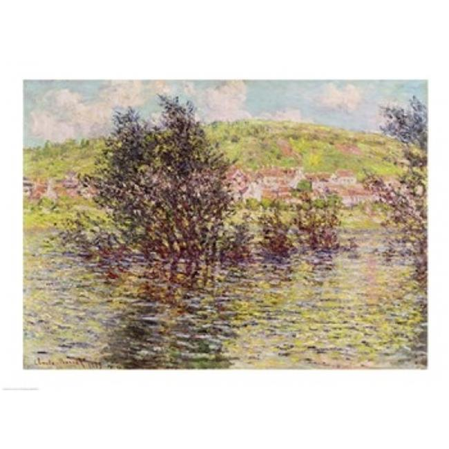 Vetheuil View From Lavacourt 1879 Poster Print by Claude Monet - 36 x 24 in. - Large - image 1 of 1