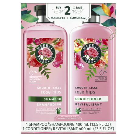 Herbal Essences Smooth Collection Shampoo and Conditioner Bundle (Best Shampoo And Conditioner For Long Hair)
