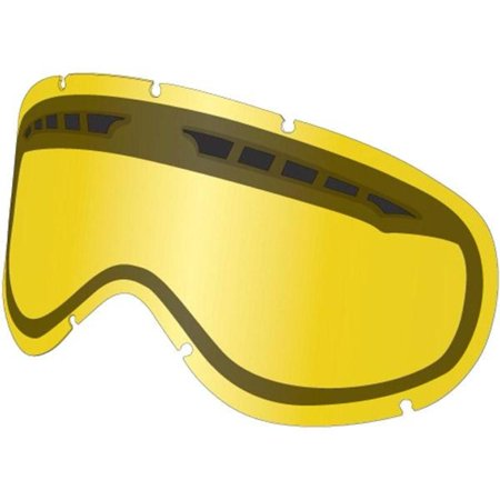 Dragon Alliance 228086438503 Replacement All Weather Lens for MDX Snow Goggles - Yellow