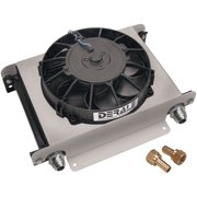 "Derale 13 x 10 x 5-5/8"" Fluid Cooler/Fan P/N 15865"