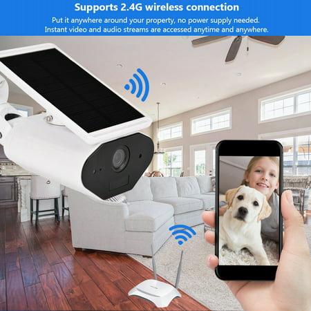 FAGINEY Waterproof Camera,Wireless Surveillance,960P WiFi Solar Energy Security Camera Wireless Waterproof Energy-saving Surveillance Camera - image 2 of 8