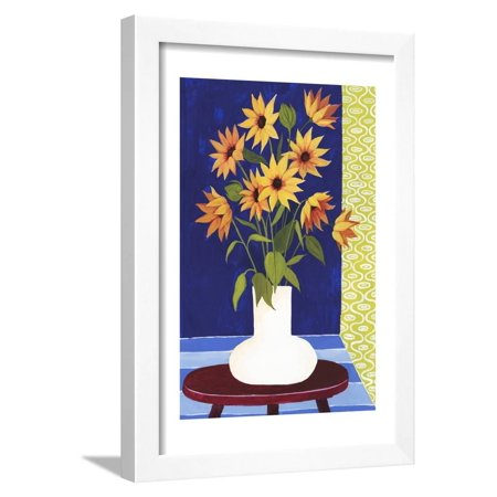 Flowers for Friday II Framed Print Wall Art