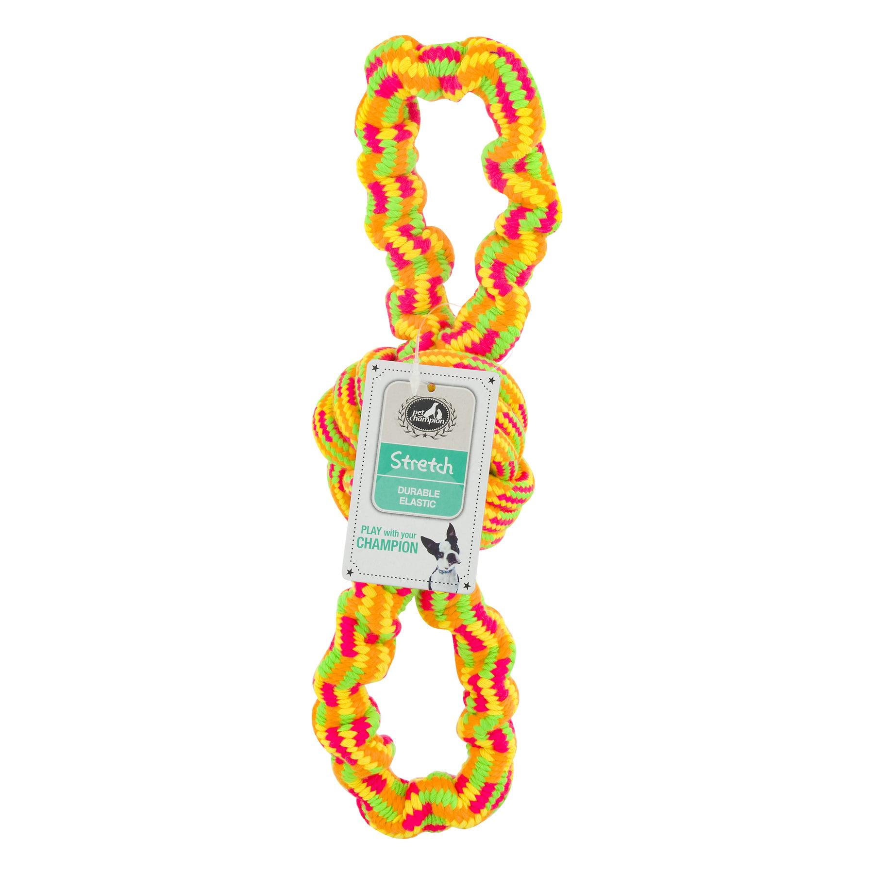 Pet Champion Stretch Rope Dog Toy, 1.0 CT by Stout Stuff, LLC