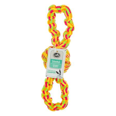 Pet Champion Stretch Rope Dog Toy, 1.0 - Orange Dog Ball