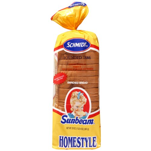 Sunbeam Enriched Homestyle Bread, 20oz