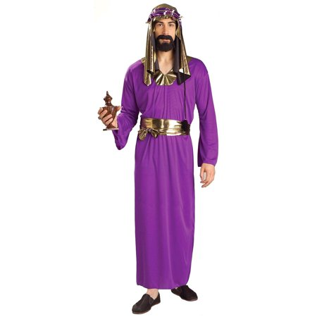 Purple Wiseman Costume for Men - X Men Group Costume