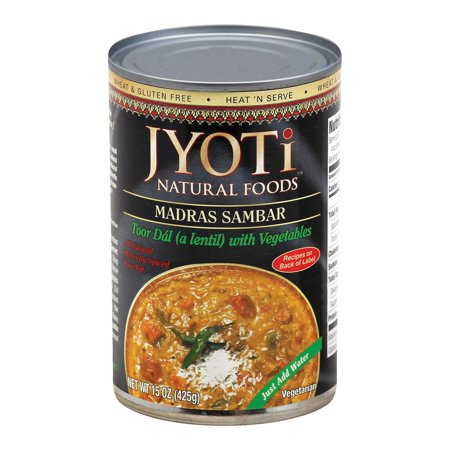 Jyoti Cuisine India Madras Sambar - Pack of 12 - 15 Oz.