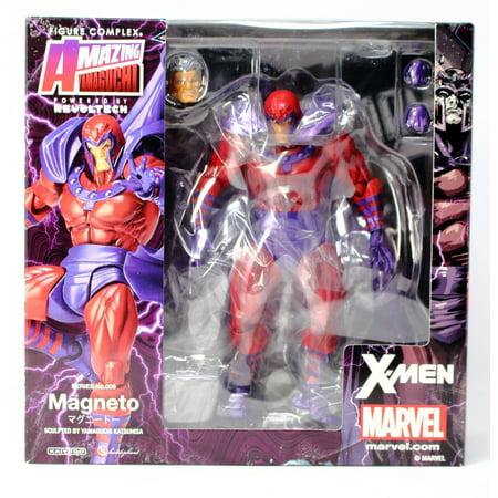 New Mib Mint (New US Seller Marvel Amazing Yamaguchi Revoltech No.006 Magneto MIB)