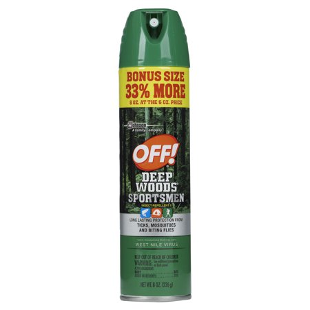 Off  Deep Woods Sportsmen Insect Repellent Ii 8 Ounces