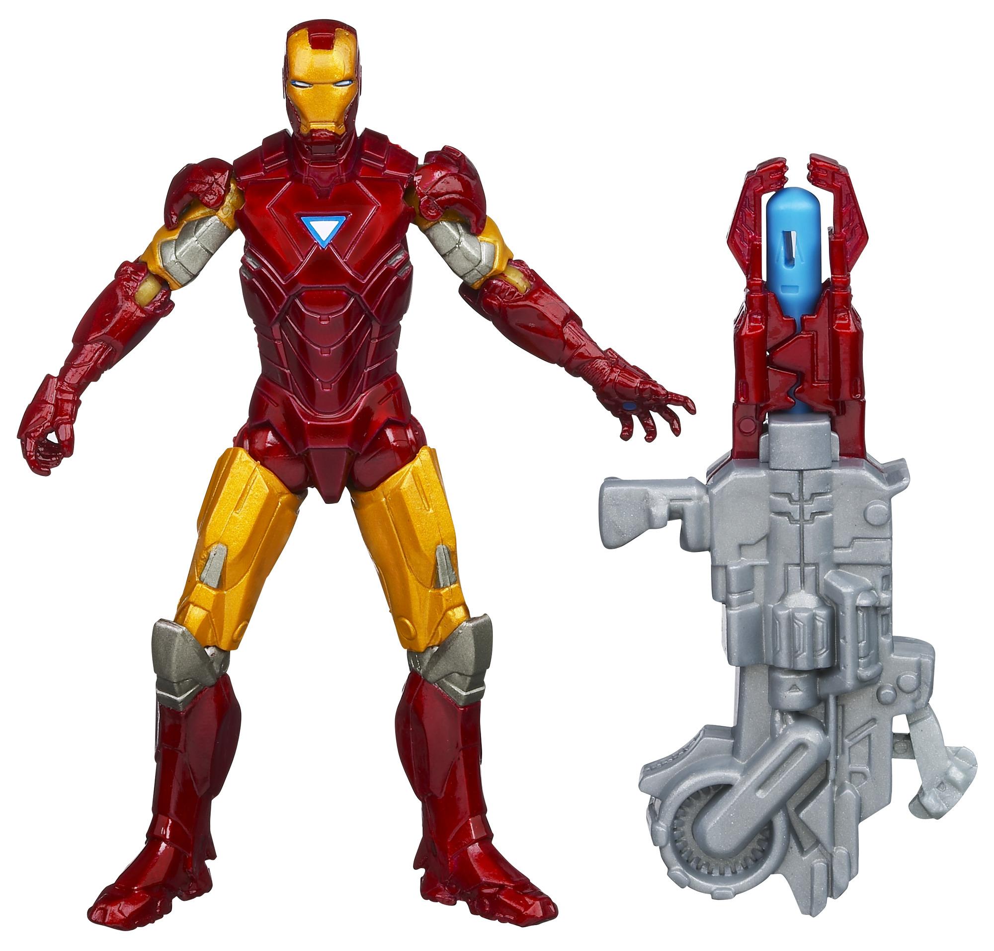 "Marvel Avengers Concept Series Heavy Artillery Iron Man 4"" Action Figure"