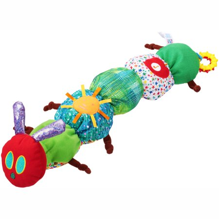 The World of Eric Carle The Very Hungry Caterpillar Play Time Plush Toy (Eric Carle Toys)