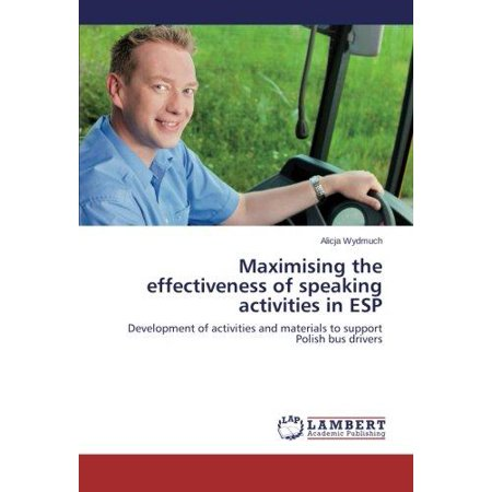 Maximising the Effectiveness of Speaking Activities in ESP