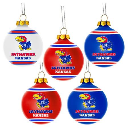 Kansas Jayhawks Christmas Ornament, Christmas Kansas ...